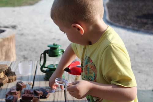 Bring plenty of thing to keep kids happy while camping