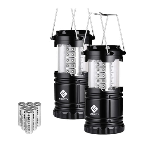 Etekcity LED Camping Lantern Collapsible Flashlight Portable