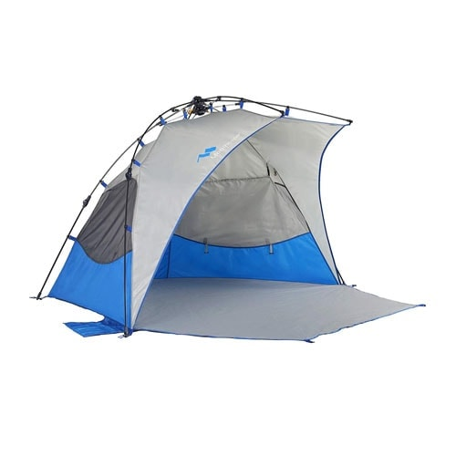 Mobihome Beach Tent Sun Shelter Pop Up, Sand & Surf Beach Shade Tents