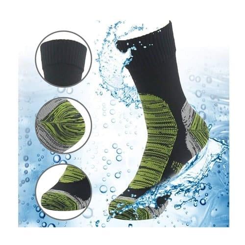 RANDY SUN 100% Waterproof Breathable Socks