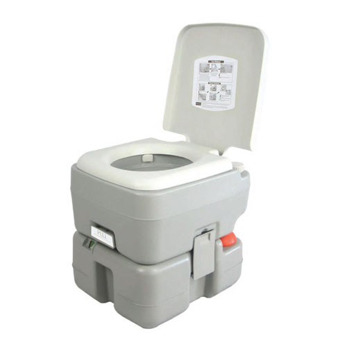 SereneLife Outdoor Portable Toilet with Carry Bag