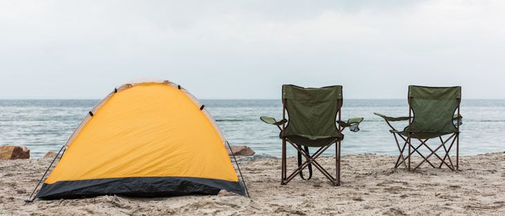 Tent Beach Camping
