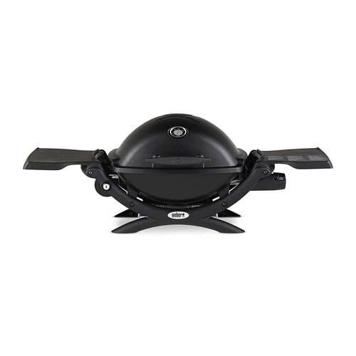 Weber Q1200 Portable Propane Grill for Camping