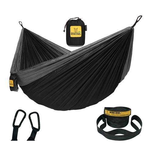 Wise Owl Outfitters Hammock Camping Double-Single