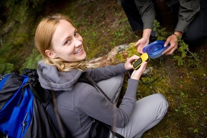 geocaching activity