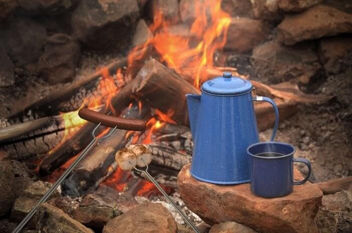 make coffee camping