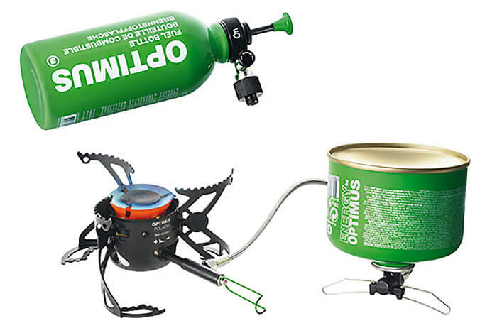 portable camping stove is great for winter camping