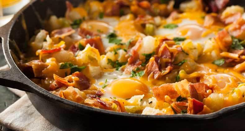camping egg scramble