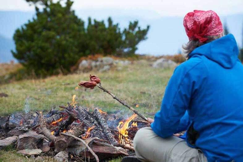 primitive camping tips