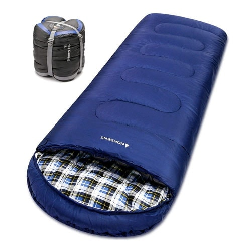 NORSENS Sleeping Bags for Adults Cold Weather 0 Degree
