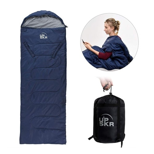 UPSKR Sleeping Bag Lightweight & Waterproof for Adults & Kids