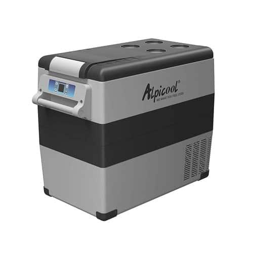Alpicool CF55 Portable Refrigerator-Freezer 12-24V DC (55 Liter)