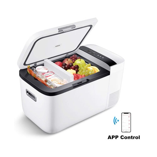 ICECO GO20 12V Dual Zone Portable Refrigerator