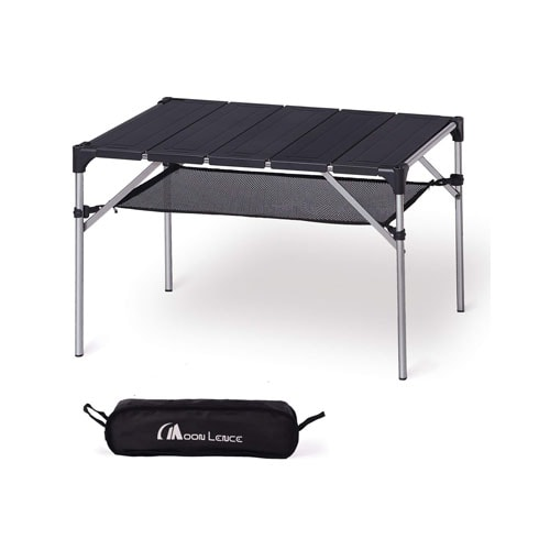 MOON LENCE Lightweight Portable Camping Table Compact