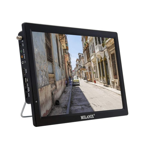 Milanix 14.1 Portable Widescreen LED TV with HDMI
