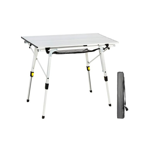 Portal Outdoor Folding Portable Picnic Camping Table with Adjustable Height
