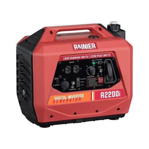 Rainier R2200i Super Quiet Portable Power Station Outdoor 1800W Gas Powered