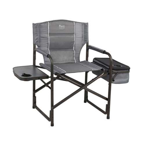 Timber Ridge Laurel Director's Chair with Cooler Bag & Side Table