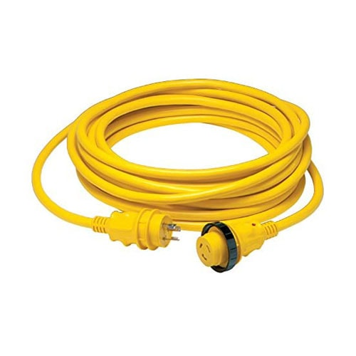 Boating Accessories New 30a 125v Powercord Plus Cordset