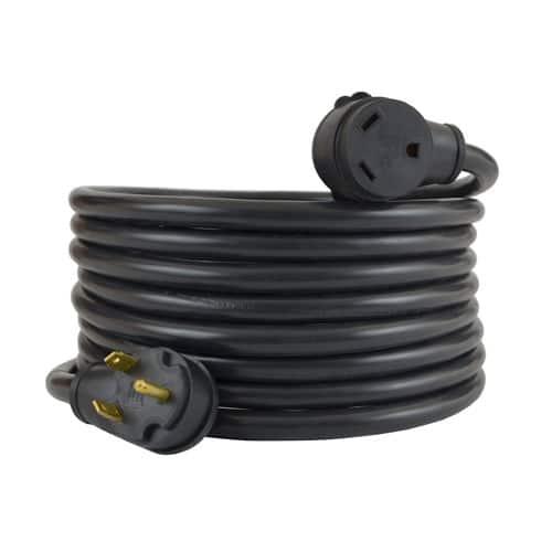Conntek 14364 30 Amp RV Extension Cord, 50 Feet, UL Listed