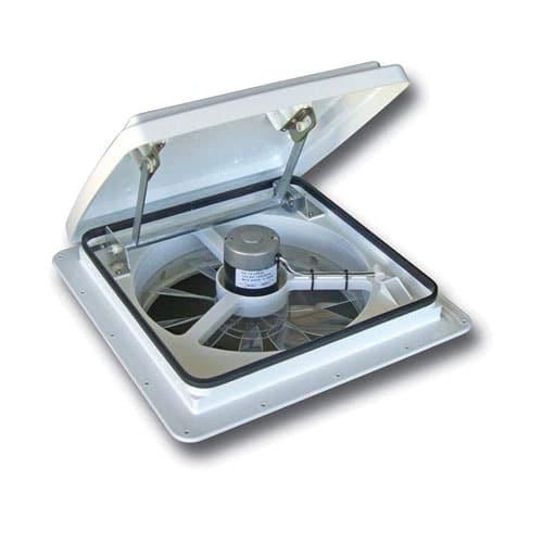Maxxair Vent Corp White 00-04000K Maxxfan Plus Vent 14 12V