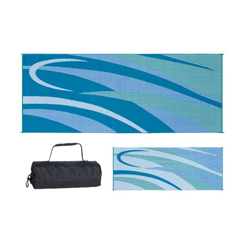 Ming's Mark GC3 Blue-Green 8-Feet x 20-Feet Graphic Mat