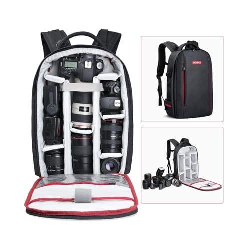 Beschoi DSLR Camera Backpack Waterproof