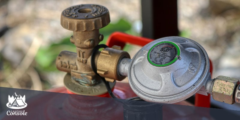 RV propane regulator