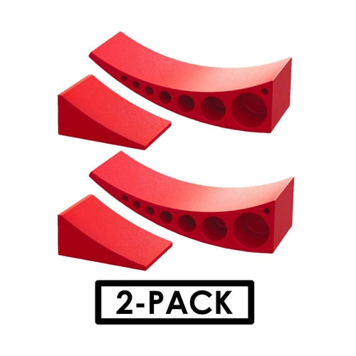 2-Pack Camper Leveler, Chock Kit