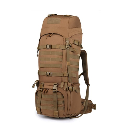 Mardingtop Molle Hiking Internal Frame Backpacks with Rain Cover