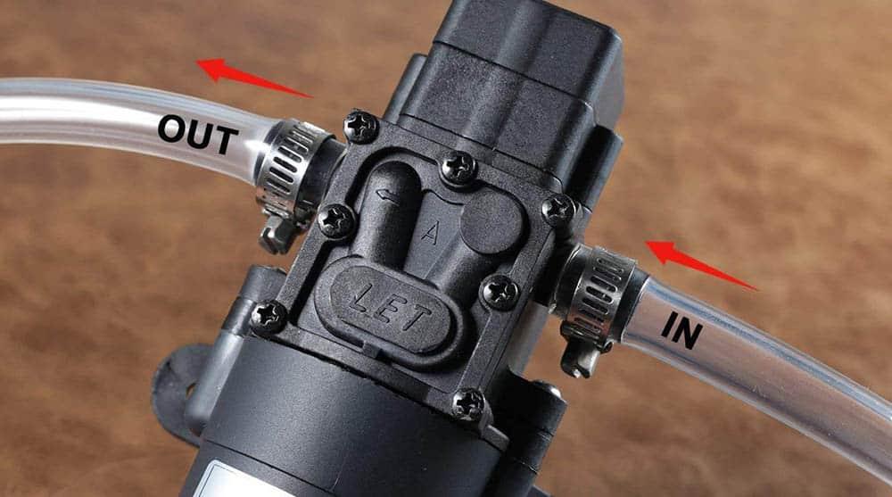 rv pump features